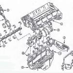 V8Block-Zeichnung