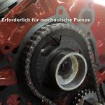 Mechanischer Pumpenantrieb