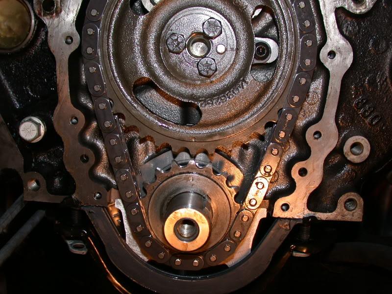 Steuerketten-Wechsel-V8-Chevy