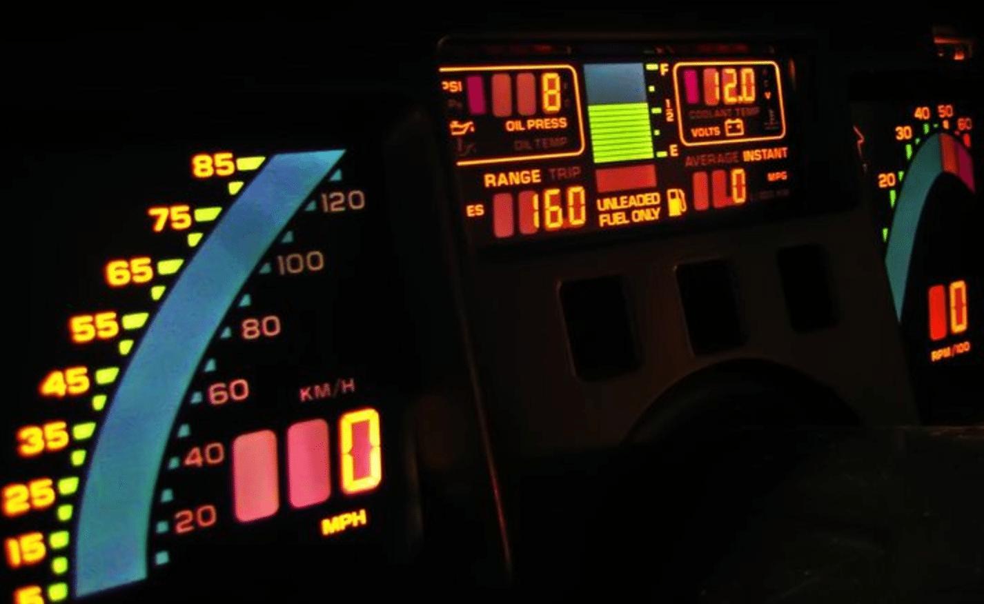 Corvette Instrumentenpaneel